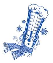 Freezing Cold Thermometer