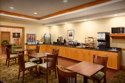 Preakfast at the Country Inn & Suites, Archdale