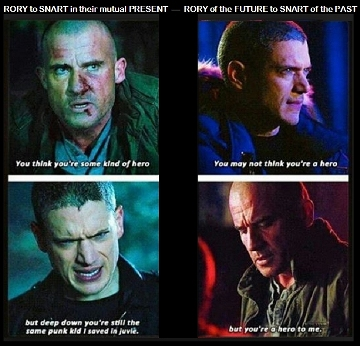What Snart hears from Rory