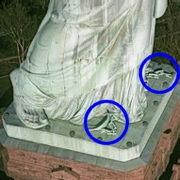 Statue of Liberty feet (correct)