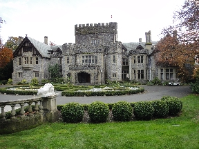 Front of Hatley Castle