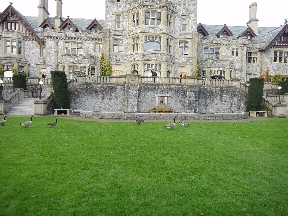 Back of Hatley Castle