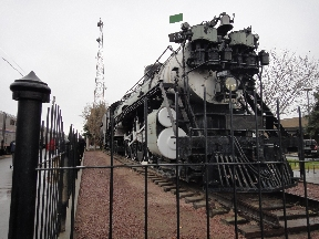 Havre, MT history - Great Northern Railway steam locomotive
