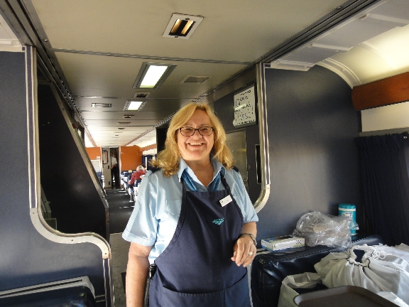 Lynne - Dining Car Attendant, Seattle end