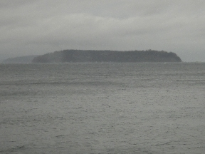 Puget Sound, very choppy