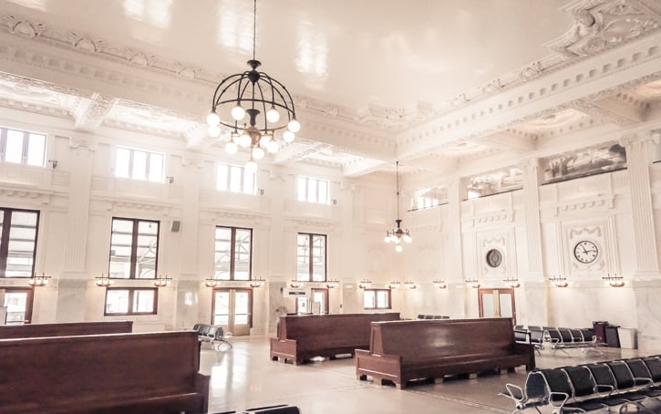 Seattle's King Street Station - Interior