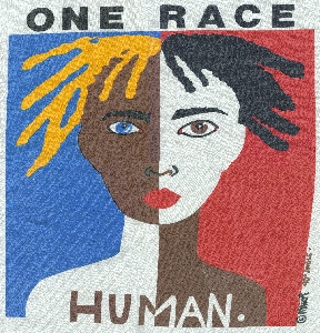 """One Race - Human"" T-shirt"