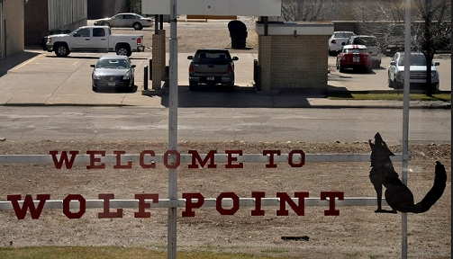 Welcome to Wolf Point, MT
