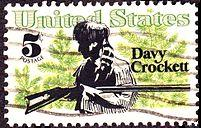 Davy Crockett stamp