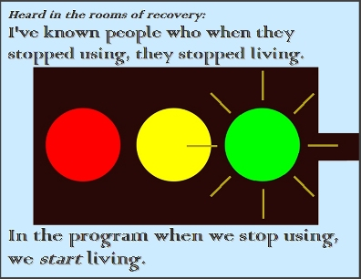 I've known people who when they stopped using, they stopped living. In the program when we stop using, we START living. #LifeJourney #StartLiving #Recovery