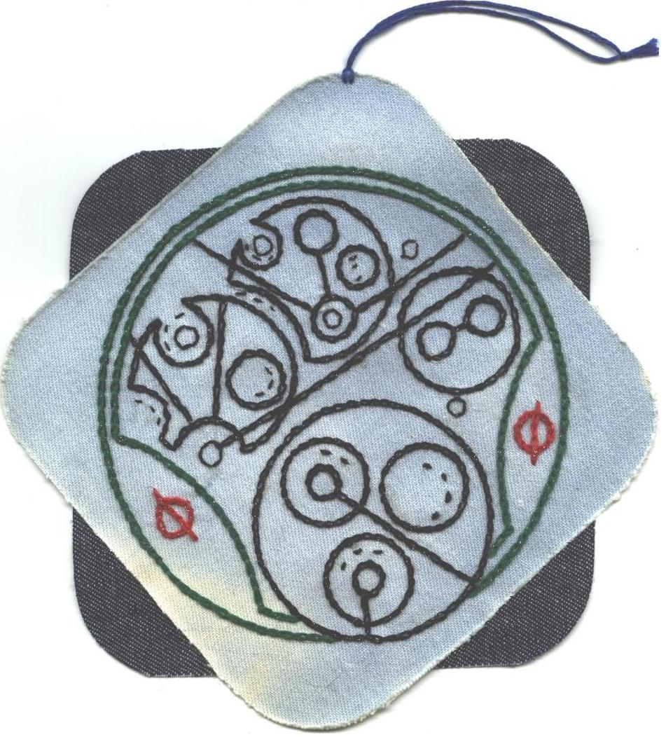Gallifreyan Patch #1