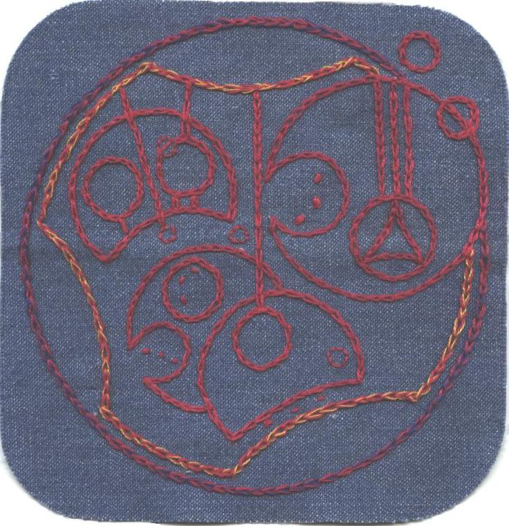 Gallifreyan Patch #4