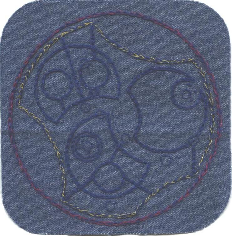 Gallifreyan Patch #6