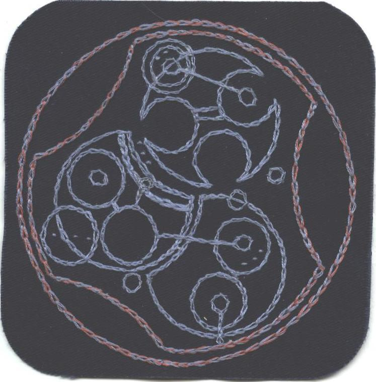 Gallifreyan Patch #8