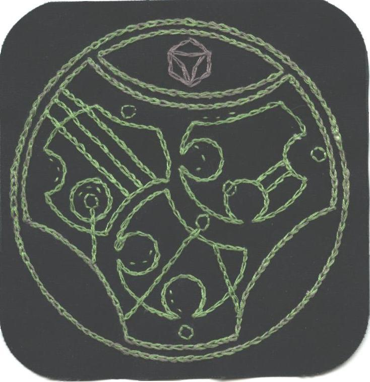 Gallifreyan Patch #9