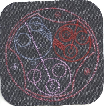 Gallifreyan Patch #10