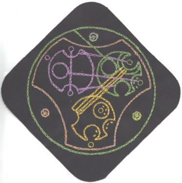 Gallifreyan Patch #11