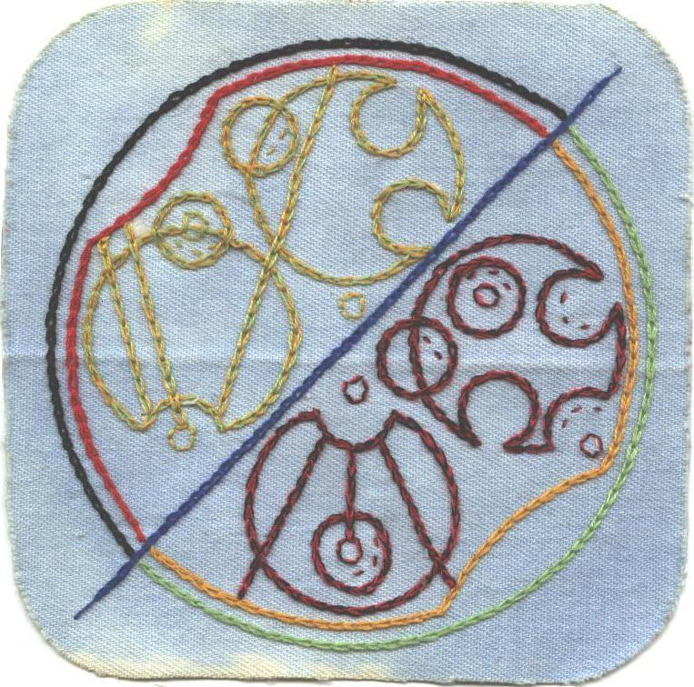 Gallifreyan Patch #12