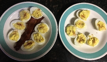 Mya Made More Deviled Eggs